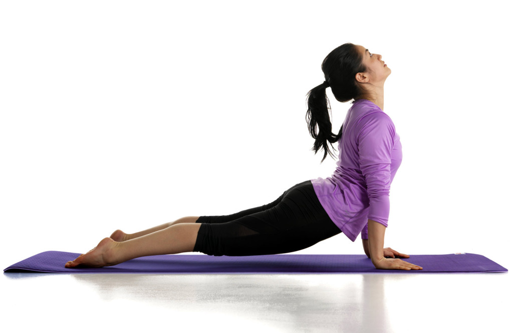 Yogamatte for yoga og pilates