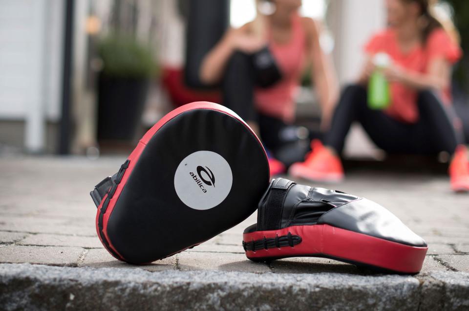 Boxning bidrar till positiv energi
