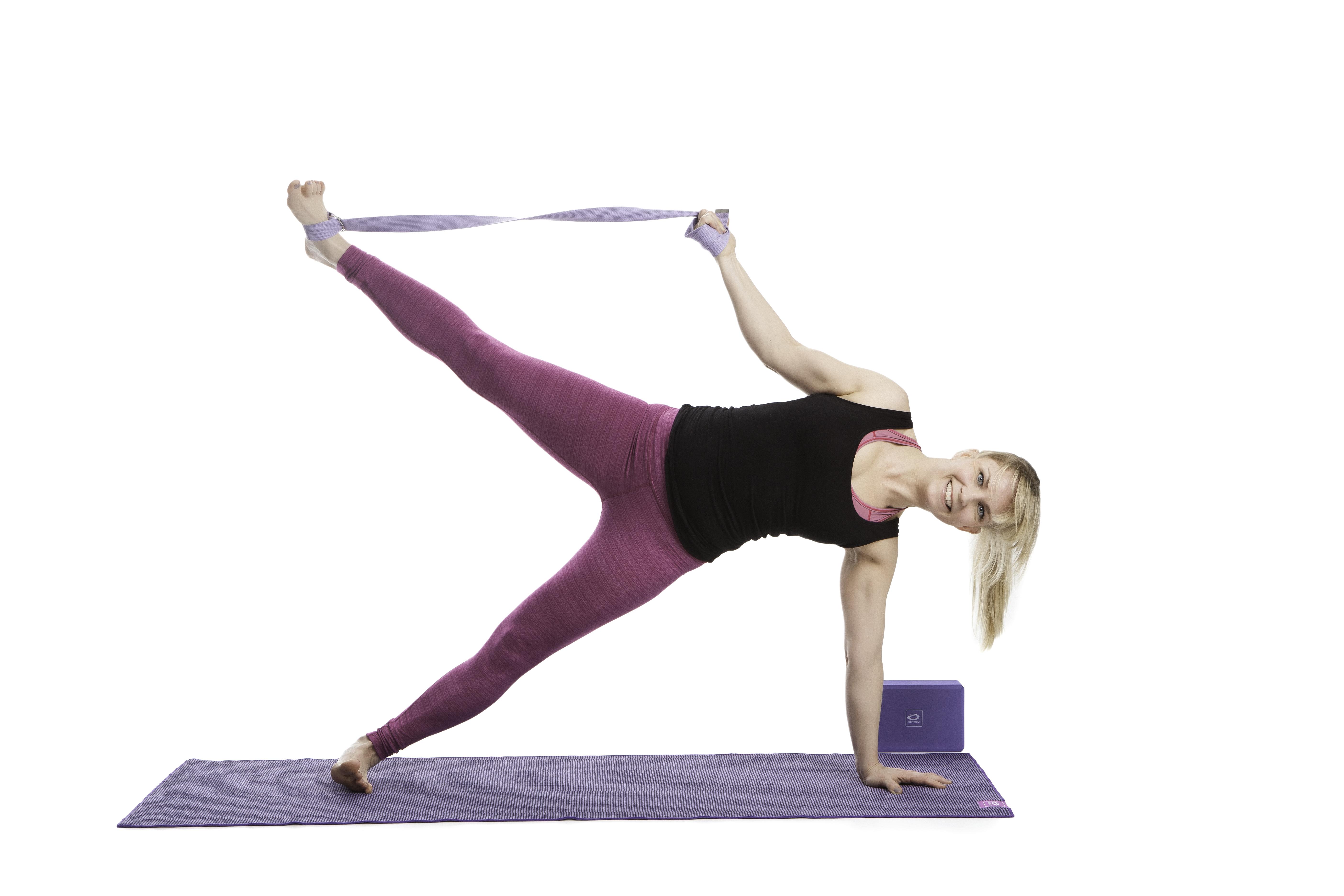 Yoga är bra för både kropp och själ!
