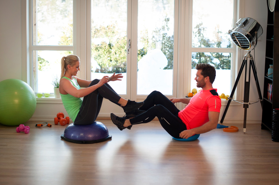 Övningar för att förbättra balansen