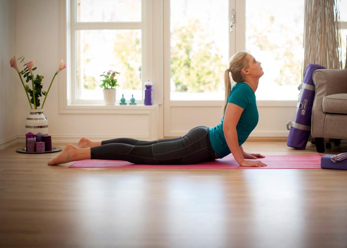 Yogaövningar du kan göra hemma