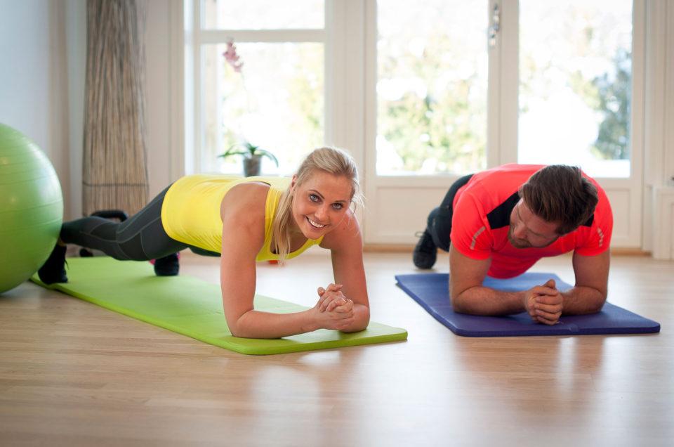 Fördelar med att träna hemma