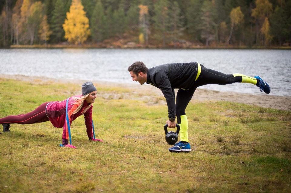 Träning med kettlebells är effektiv träning för hela kroppen!