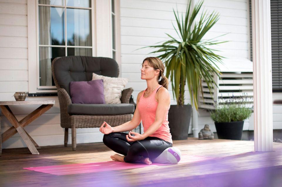 Varva ner med yoga